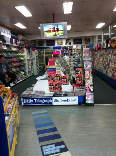 Newsagency in Nort..